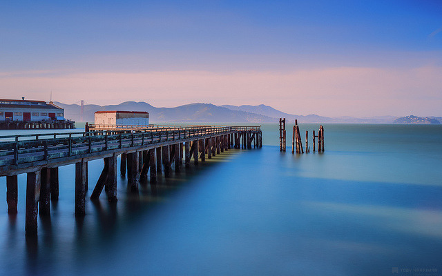 Abandoned Pier on Flickr.Via Flickr:Website | facebook | Google+ | Blog | Stipple
