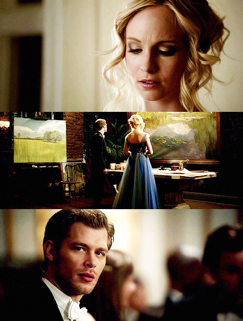3 Klaroline screencaps per episode ↳ 3.14 Dangerous Liaisons