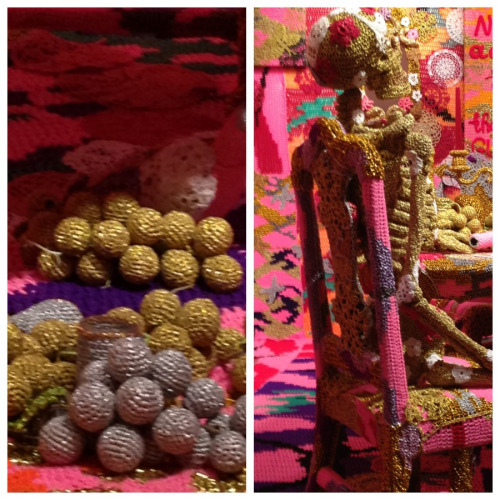 "Some close-ups of Olek's ""the end is far"" show at Jonathan LeVine gallery."