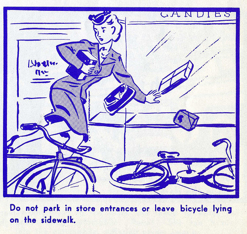~ Bicycle Safety Manual, 1969 via vintage everyday