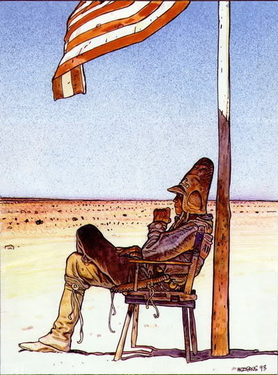 Remembering Moebius.