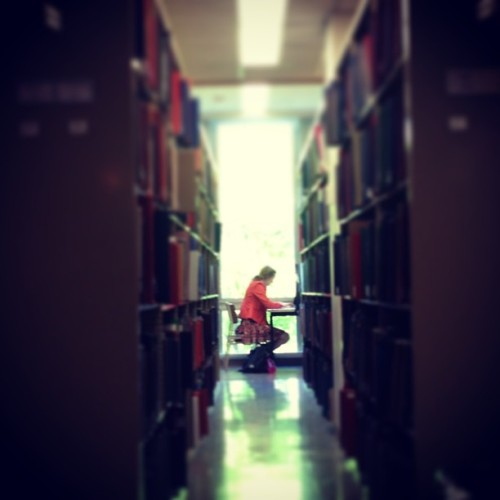 #Finals (at Hunt Library)
