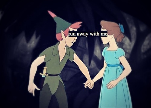 quotes about peter pan in love - Google Search on @weheartit.com - http://whrt.it/10IWjLX