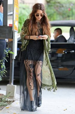 suicideblonde:  Vanessa Hudgens out in West Hollywood, May 16th