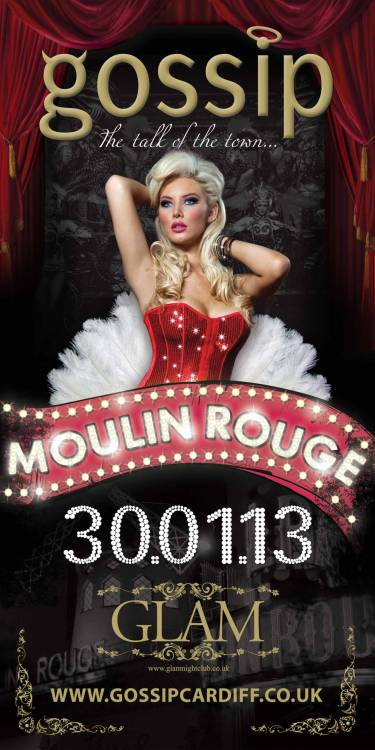 This Wednesday we welcome you to the MOULIN ROUGE!