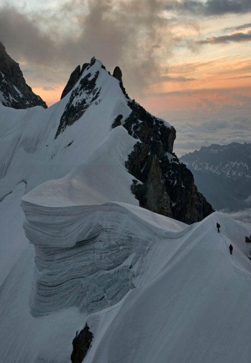 ecocides:  The Rochefort Arete - Chamonix, France | image by Ruahine Tramper