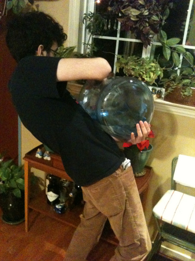 jojopose:  Dio Brando casually refilling a water jug