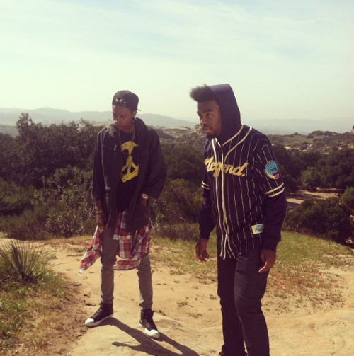 "HBK x TGOD ""Goin' Up"" Video shoot shot by Mama Kreay"