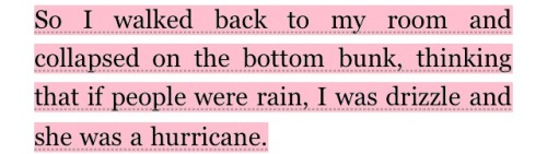 l-ush:      starmystic:  myworldiscliche:  Looking for Alaska  I LOVE THIS    love love love q'd