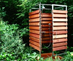 homedesigning:  (via Solo Outdoor Shower by Oborain)