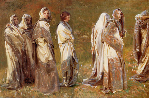 theentwood:  Cashmere (The Silent Sisters)-John Sargent  ART in Westeros
