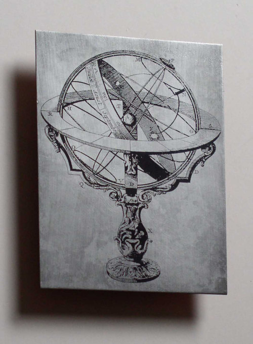 staceythinx:  Vintage science stuff looks even cooler when etched in metal. You can find these copper and zinc pieces in the Copper Leaf Studios Etsy store.