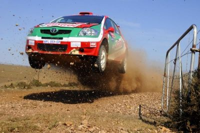 erikwestrallying:  Toyota Auris S2000 rally car - South Africa