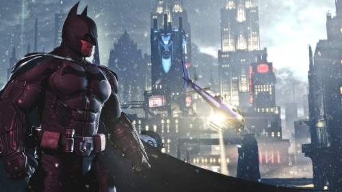 theouthouseblog:  New Trailer for Batman: Arkham Origins + Deathstroke Playable Character Details It was also announced that Deathstroke will be a playable character and those who pre-order for PS3, XBox and PC will get  early access to the Deathstroke DLC.  Deathstroke will have three different appearances to choose from plus a unique fighting style, new weapons and challenge maps specifically for him. Read More