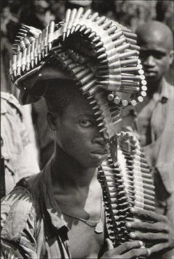 semioticapocalypse:  Igbo soldier during the Nigerian Civil War, November, 1968 [::SemAp::]