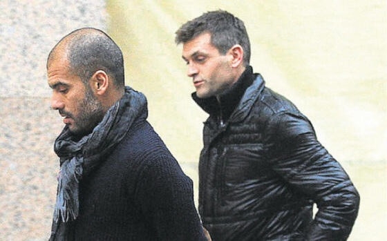 vivalaavida:  Pep and Tito met up in NYC and had dinner together on Thursday.