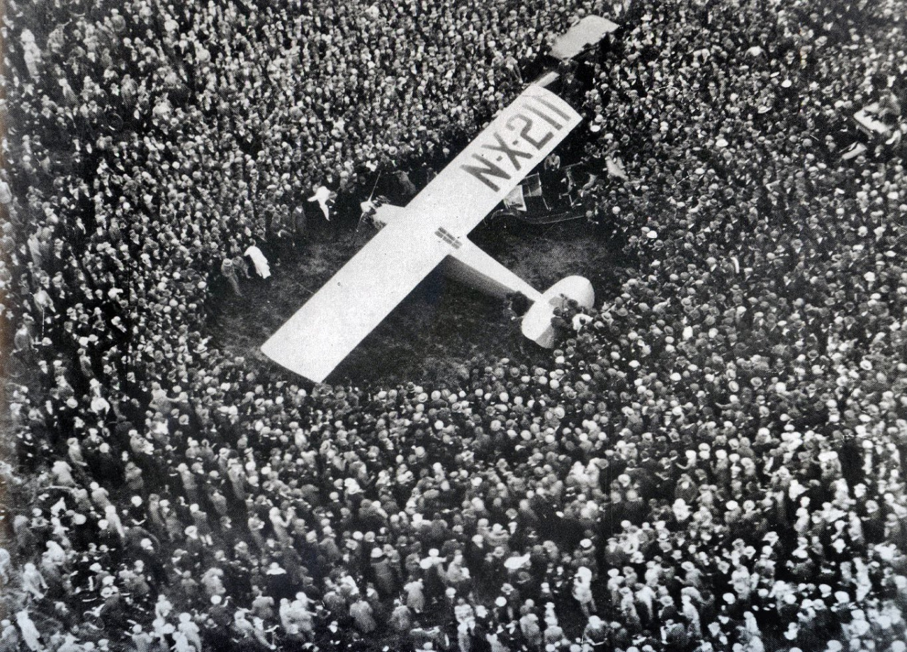 Charles Lindbergh in Paris