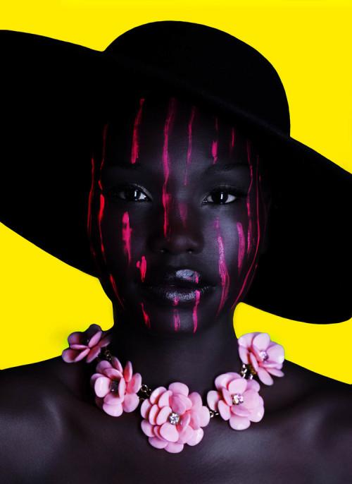 continentcreative:  Sudanese model Adeng by Aric Yeakey