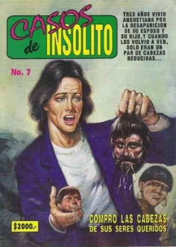 CASOS de INSOLITO - Mexican Deformities Comics.