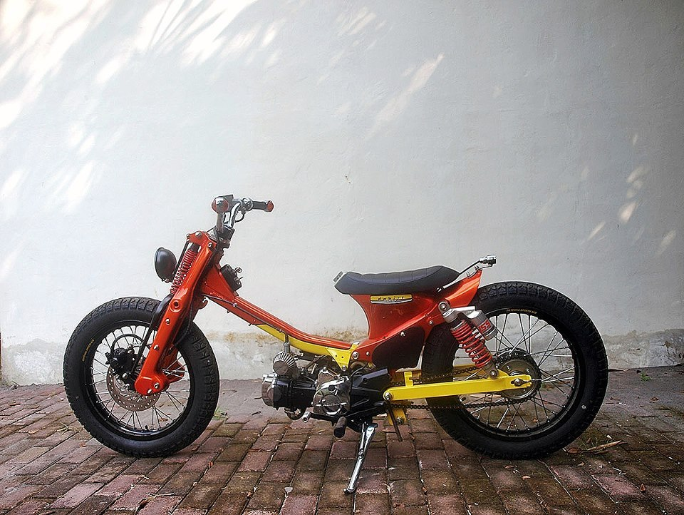 Honda Cub from Daritz Design