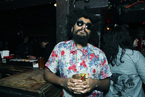"Nasty ""Antisocial"" Nigel poses for this weeks installment of Vice's New York State of Mind shot by Verena Stefanie Grotto."