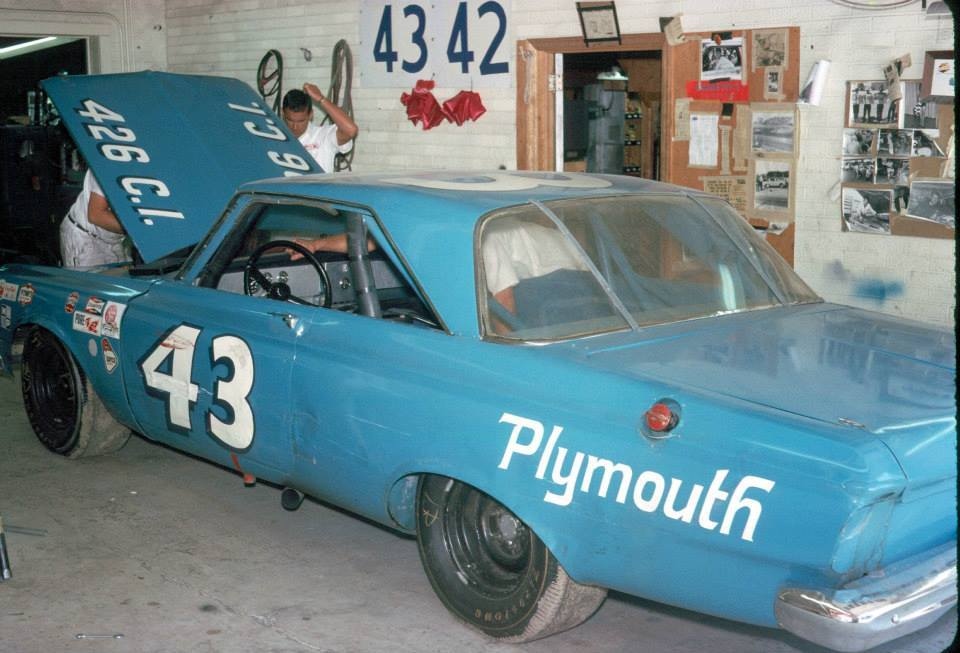 murdercycles:  Local Mopar freak Kevin Hodge got to visit Petty Enterprises a few times as a child. His father was a racing photographer. 1 Photo courtesy Kevin Hodge & Howie Hodge https://www.facebook.com/kevindhodge?hc_location=timeline