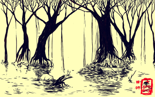 subcultureandaltart:  Swamp by *demitasse-lover