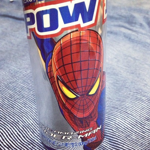 Energetic spider drink #energetic #drink #spiderman #seoul #korea #igx3 #gramfriends #c0m  (em Paris Baguette)
