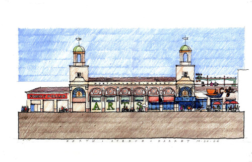 North Avenue Market rendering