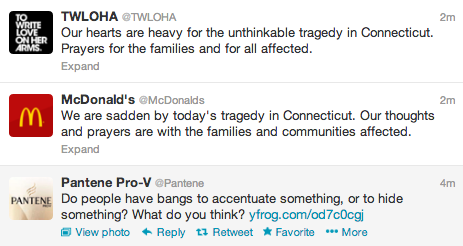"megacycles:  Live Tweeting  And this is why we do NOT ""set it and forget it."""