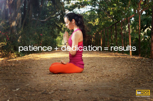 Patience + Dedication = Results