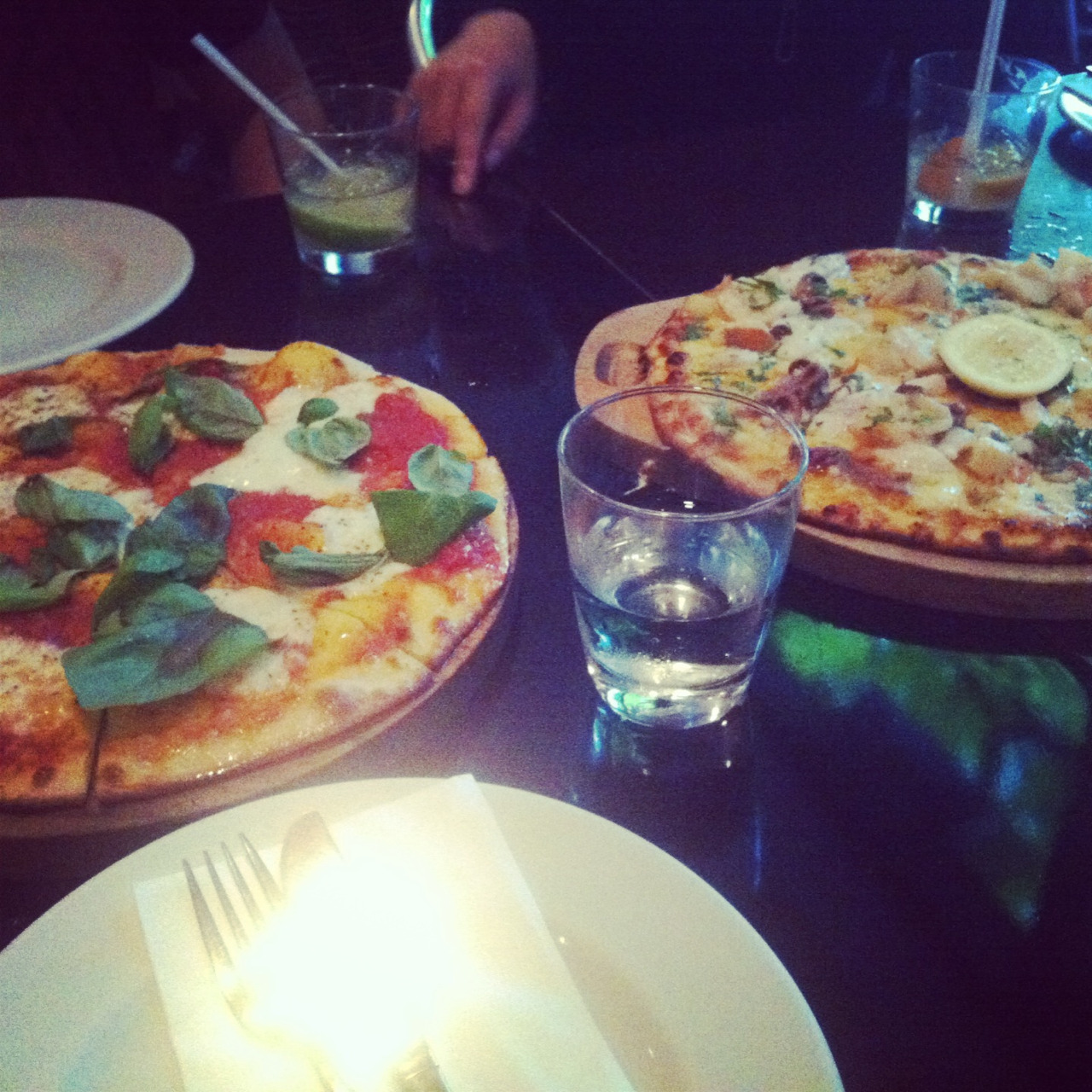 The most delicious woodfired pizzas from Prego in Ponsonby