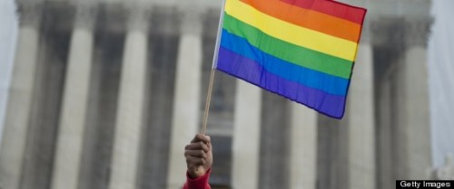 "thepoliticalfreakshow:  From Sea To Shining Sea: Gay Marriage Support Rises In All 50 States Support for same-sex marriage has grown across all 50 U.S. states over the past eight years, a new report has found. Published by the UCLA's Williams Institute, ""Public Support for Marriage for Same-Sex Couples by State"" examines each state's current stance on the legality of marriage equality, as well as the overall change in public opinion since 2004. Over the past eight years, every U.S. state has increased in its support for same-sex marriage, with an average increase of 13.6 percent, and if the public opinion trends continue at the same pace, eight additional states will be above 50 percent support by the end of next year. But lesbian, gay, bisexual and transgender (LGBT) rights advocates shouldn't get overly optimistic by the report's findings, as Williams Institute researchers pointed to what was described as ""a notable disparity"" that exists across state boundaries, according to a press release. Still, the findings seem in line with a number of other polls: a POLITICO and George Washington University survey found that, out of 1,000 likely voters, 40 percent of respondents said they support marriage equality, while 30 percent said they supported civil unions. Meanwhile, a LifeWay Research study released in March found that nearly two-thirds of Americans believe legalized same-sex marriage in the U.S. is inevitable. Read the full Williams Institute poll here."