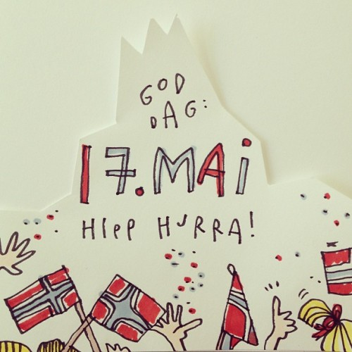 17 May is Norway's Constitution Day. Hip Hurray.