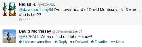 Best of David Morrissey's tweets [6 / ∞]