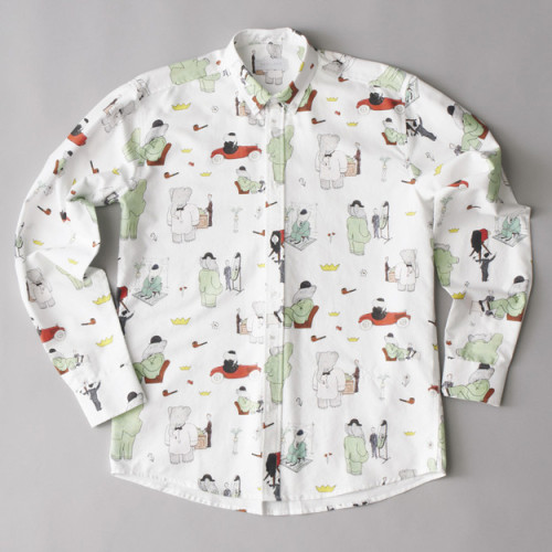 Soulland BaBar Paris Shirt | The Good Hood Store