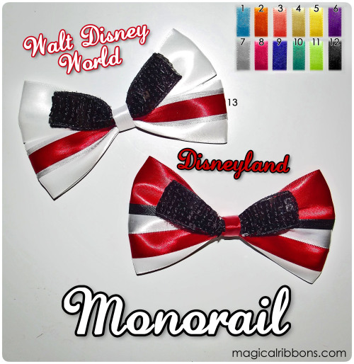 magicalribbons:  Magical Ribbons - Monorail  THIS IS SO CUTE!