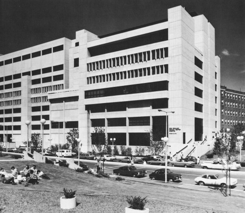 fuckyeahbrutalism:  New England Medical Center, Tufts University, Boston, Massachusetts, 1968 (The Architect's Collaborative)