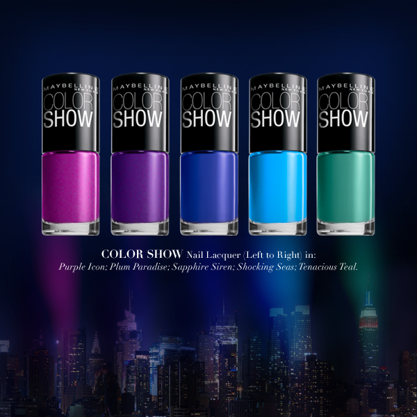 maybelline:  You're as bright as the NYC skyline.