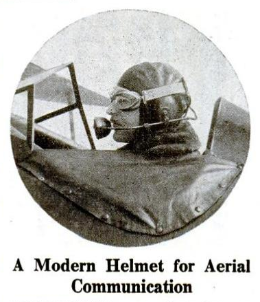 iloveoldmagazines:  Popular Aviation 1931 Vol. 8, No. 1  modern helmet