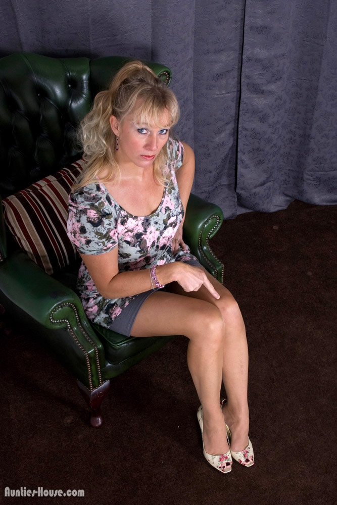 Over her leg spanked wife