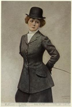 Mabel Love, 1910