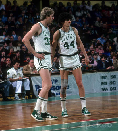 nbaoffseason:  Larry Legend & Pistol Pete.