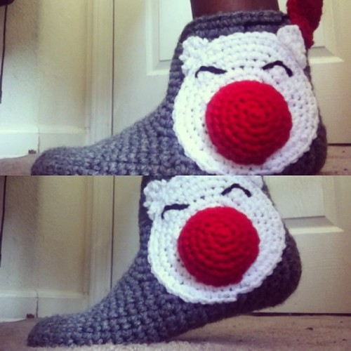 New moogle booties up in my shop! Grannysfanny.etsy.com  https://www.etsy.com/listing/151648688/moogle-booties?ref=shop_home_active redesign of the ones featured on gameinformer.com http://www.gameinformer.com/b/news/archive/2012/08/02/adorable-cheap-moogle-slippers-kupo.aspx?PageIndex=2