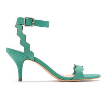 Ankle strap + low heel + gorgeous hue = awesome (via Loeffler Randall's Pre-Fall Collection: 5 Must-Buy Pairs)