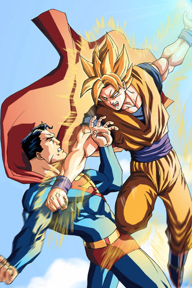 Question: When did Goku battling Superman become a thing? And not just a thing but something in which endless Internet wars are being fought. They are both good guys and neither of them are stupid enough to not realize that. And even if they were forced to battle I'm pretty sure they could figure out a way to work it out and defeat the person forcing them to battle. Do your little stories if you want but at least get it right that these two would be on the same side and therefore have mutual respect for each other.