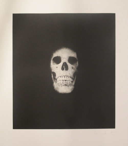 Hirst Controversial Contemporary artist Damien Hirst is one of the best known Contemporary British artists to date. His œuvre is abstract, conceptual, romantic, baroque, and minimal, and he embraces and carries on the legacy of Warhol with sensation-seeking, factory-made work that is as much about marketing as it is about content.  Pictured is Hirst's Skull III (from I once was what you are, you will be what I am) (2007), which is now live for bidding on artnet Auctions.