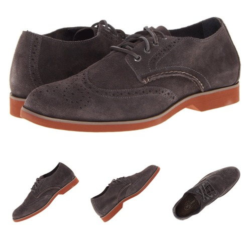 Purchase. Sperry Top-Sider Boat Oxford. Grey suede wingtip.