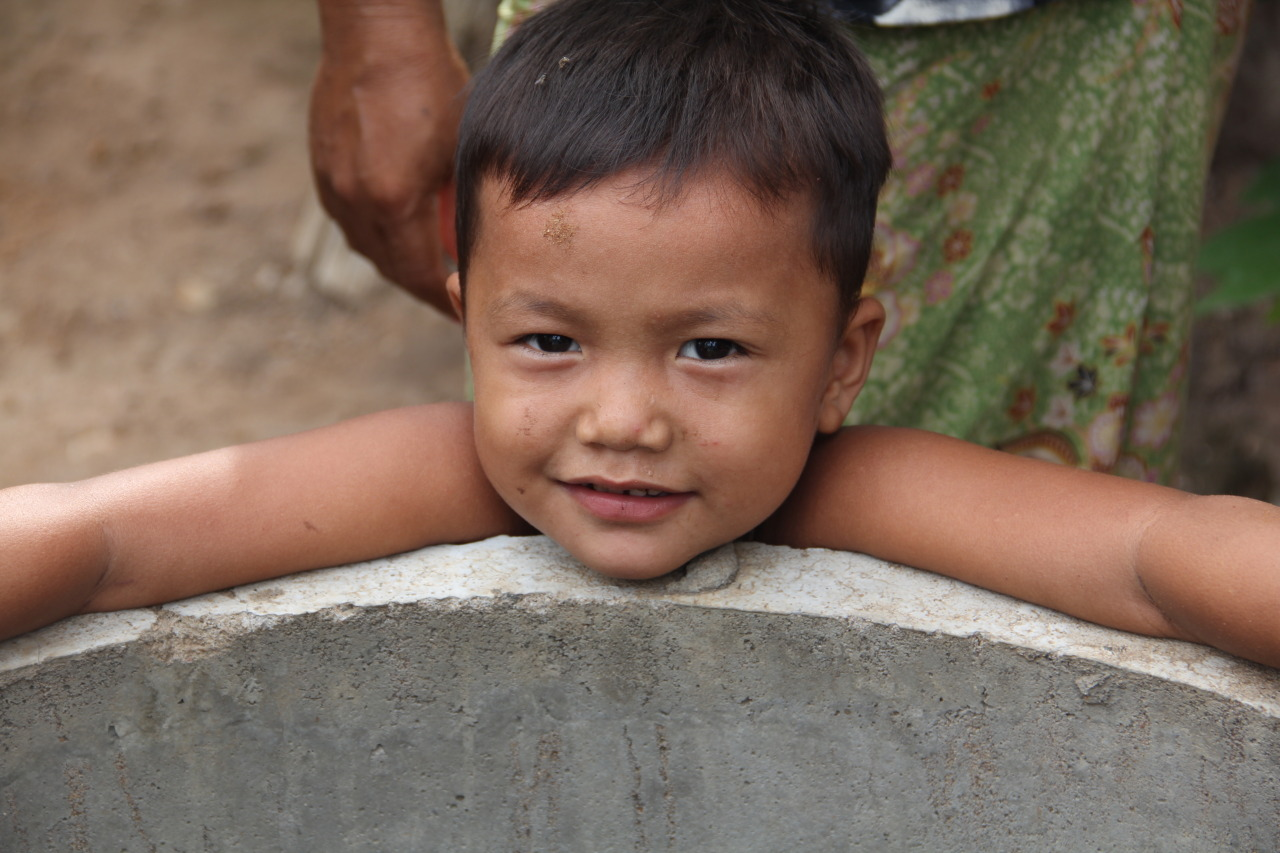 Clean water well project in Cambodia