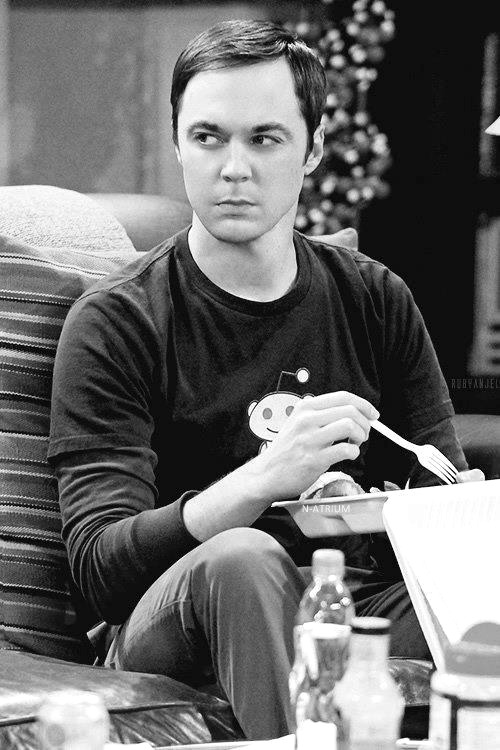 I really adore Sheldon. He's a fantastic actor and he plays Sheldon very well.